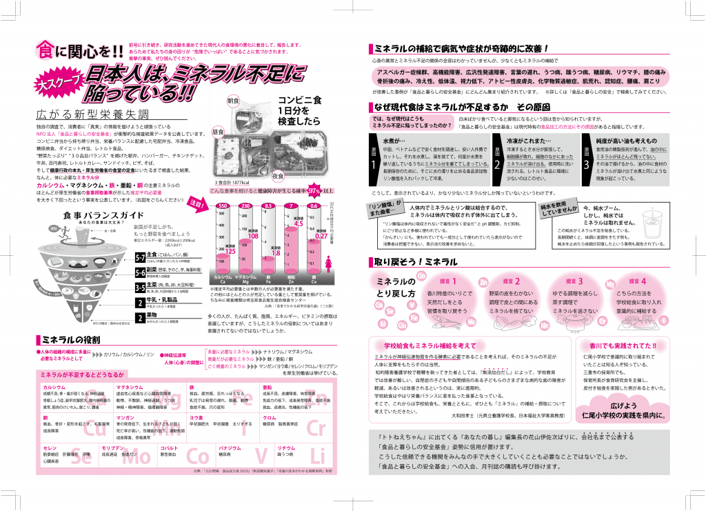 HOT県通信・第10号(中面)